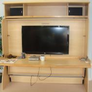 Studio Hideaway Bed Desk Hidden Factory Canada