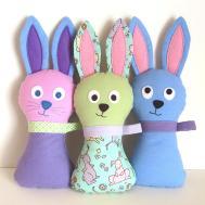 Stuffed Bunny Pattern Hoppy Loppy Pdf Sewing Soft