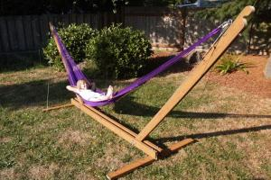Stunning Backyard Diy Hammock Chair Stand Wood Fence