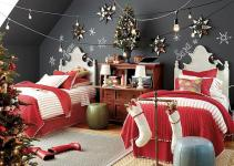 Stunning Minimalist Christmas Bedroom Decorating Ideas