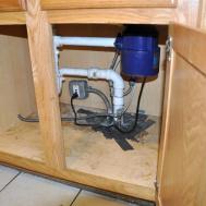 Stylish Along Interesting Pipes Under Kitchen Sink