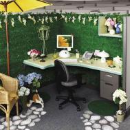 Stylish Decorating Ideas Office Cubicles Lestnic