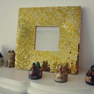 Stylized Diy Mirror Frame Particular