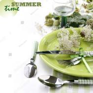 Summer Table Setting Stock Shutterstock
