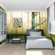 Sunlight Forest Mural Pr1855