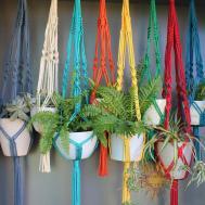 Sunshine Dreaming Macram Plant Hangers 130cm