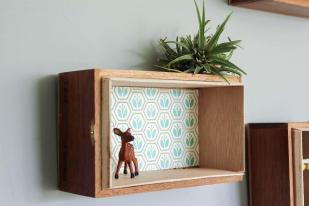 Super Easy Diy Floating Box Shelves Cigar Boxes