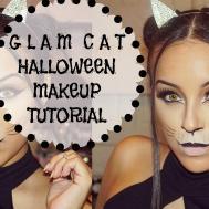 Super Easy Glam Cat Halloween Makeup Tutorial Victoria