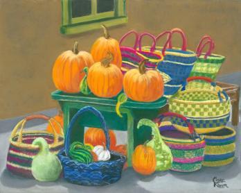 Susquehanna Valley Plein Air Painters Stonewall Pumpkin