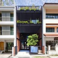 Sustainable Yet Modern Terrace House Design Architects