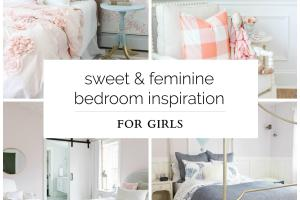 Sweet Feminine Bedroom Inspiration Girls Burst