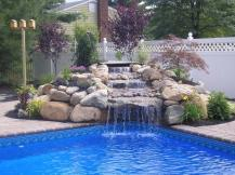 Swimming Pool Designs Waterfalls Officialkod Unique
