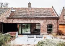 Synergy Contrasting Styles Farmhouse Renovation Belgium