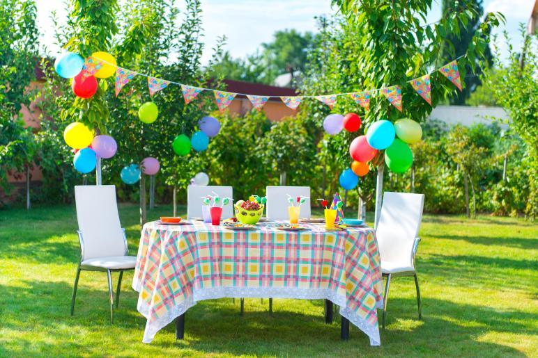 Table Decoration Ideas Summer Garden Party