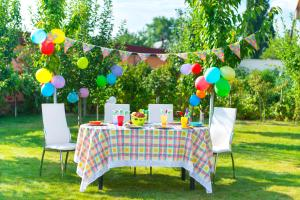 Table Decoration Ideas Summer Garden Party