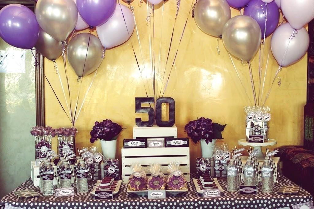 Take Away Best 50th Birthday Party Ideas Men Decoratorist 225844