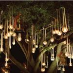 Tea Light Hanging Lanterns Solar Lights Hang Trees Decoratorist 109062