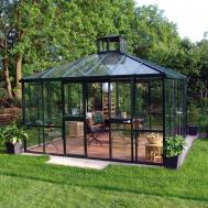Teehaus Pavilion Greenhouse Luxury Greenhouses