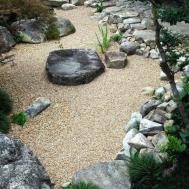 Terrace Garden Cozy Japanese Courtyard