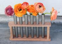 Test Tube Flower Vase Crafted Life