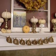 Thanksgiving Decor Happy