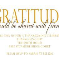 Thanksgiving Invitation Set Luulla