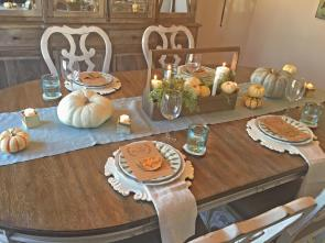 Thanksgiving Tablescape Inspiration Regency Homebuilders