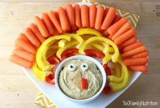 Thanksgiving Veggie Platter Tips Eat Healthy