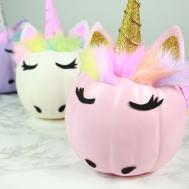 These Diy Glam Unicorn Pumpkins Just Too Gourd