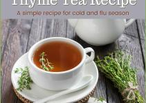 Thyme Tea Recipe Great Decongestant Cold Flu