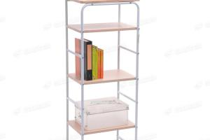 Tier Beech Display Rack Kitchen Book Shelves Shelving