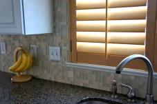 Tile Backsplash Window Trim