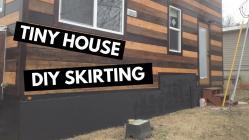 Tiny House Diy Skirting Winter Prep Winterize