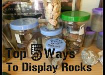 Top Ways Display Rock Collections
