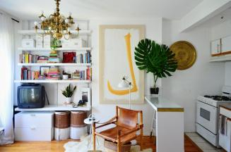 Tour 288 Square Foot Studio Brooklyn Apartment Therapy