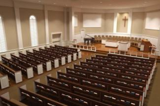 Traditional Church Sanctuary Renovations