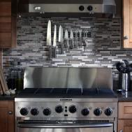 Traditional Kitchen Edmonton Craft Grey Stained Cabinets