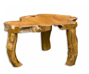 Tree Stump Side Table Diy Artistic Coffee
