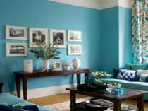 Trend Blue Green Living Room Walls Your Designing