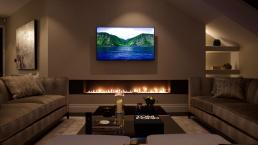 Trendy Contemporary Fireplace Designs