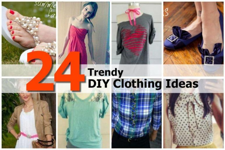 Trendy Diy Clothing Ideas
