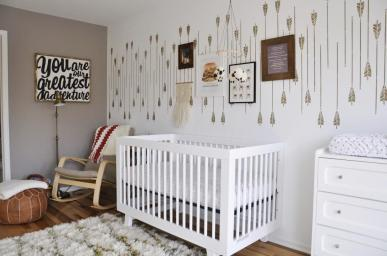 Tribal Inspired Nursery Decor Project