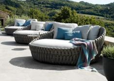 Tribu Tosca Garden Day Bed Outdoor Furniture