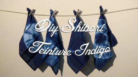Tuto Shibori Teinture Indigo Crafts Diy Projects