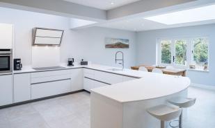 Ultra Modern White Kitchen