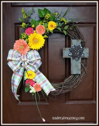 Uncategorized Easter Wreaths Ideas Diy Wreath