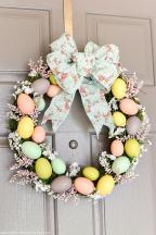 Uncategorized Easter Wreaths Original Bright Decorative
