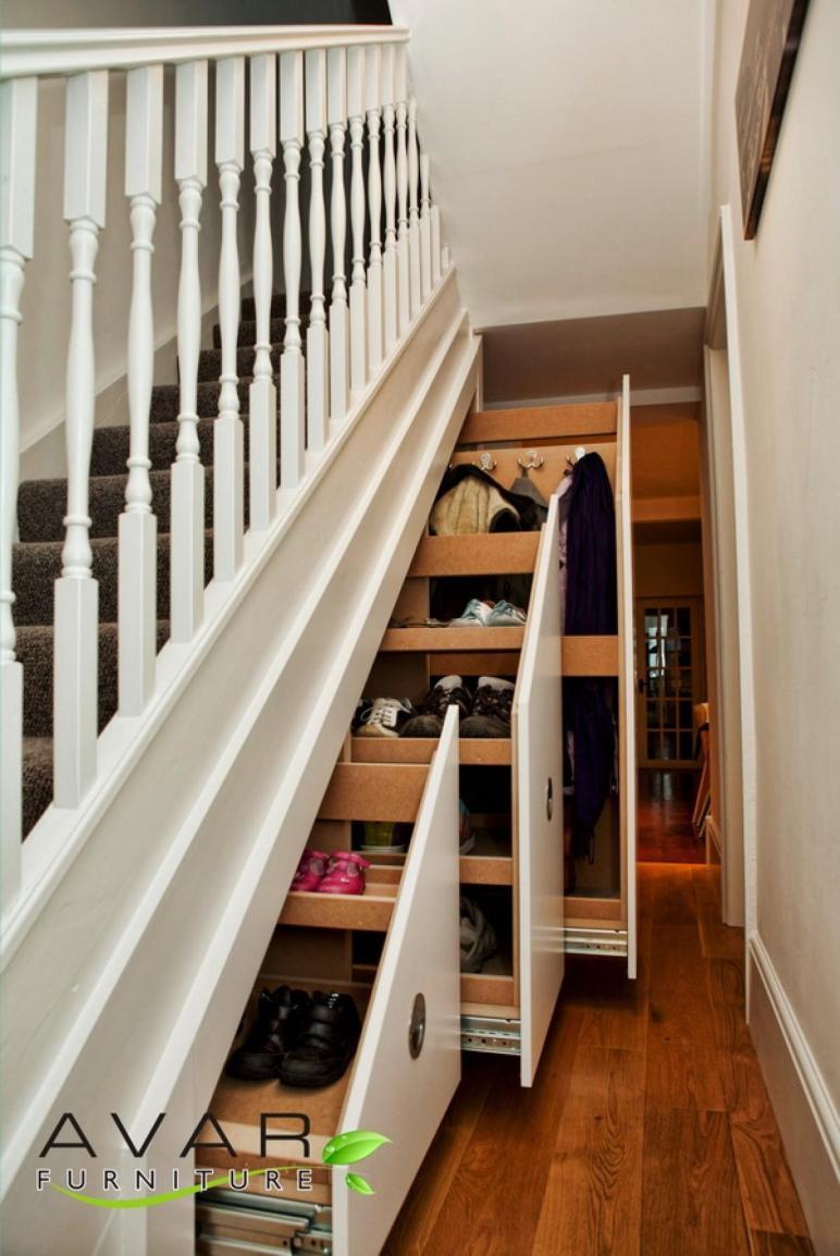 Under Stairs Storage Ideas North London