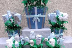 Unique Baby Shower Centerpieces Ultimate Boy