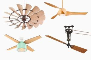 Unique Ceiling Fans Really Underscore Any Style